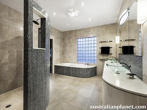 Photos best modern bathroom designs small bathroom for Modern small bathroom renovations