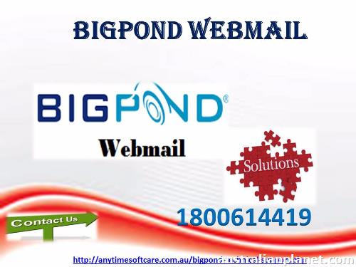 how to fix bigpond webmail