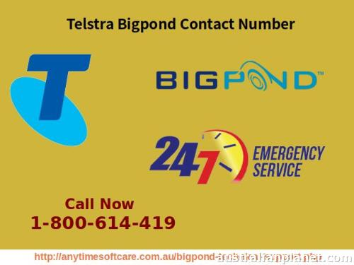 Contact Phone Number 1-800-614-419 For Telstra Bigpond in Sydney